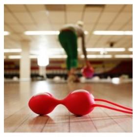 smartballs duo - FUN FACTORY - boule de geisha - magenta / noir
