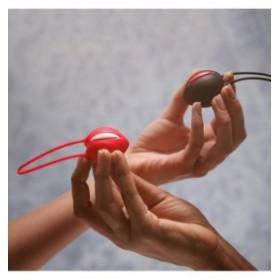 smartballs uno - FUN FACTORY - boule de geisha - magenta / noir