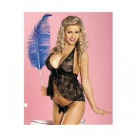nuisette babydoll perfume latino provocative nuisette noir