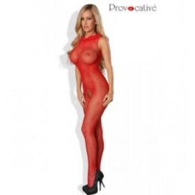combinaison intégrale flamboyante - PROVOCATIVE - rouge