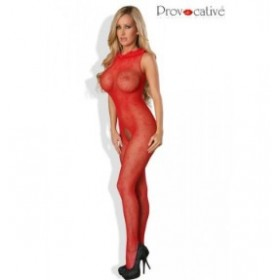 combinaison flamboyante - provocative - rouge