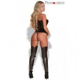 Provocative corset - PROVOCATIVE - corset - Noir