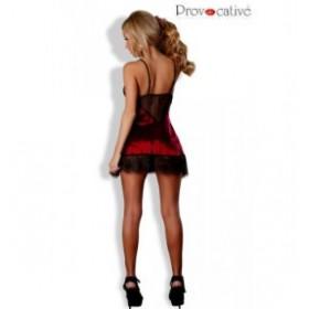 provocative - nuisette douce passion - rouge noir