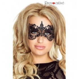 masque dentelle sensuelle - provocative - noir