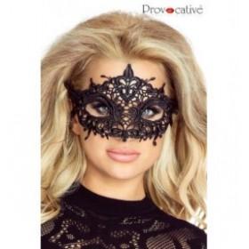 masque dentelle mysterieuse - provocative - noir