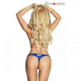 String - provocative - bleu