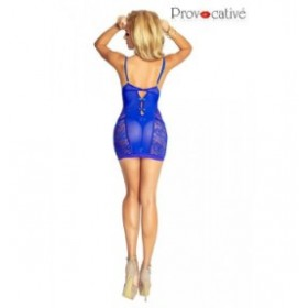 nuisette - provocative - bleu
