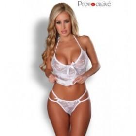 string - provocative- blanc