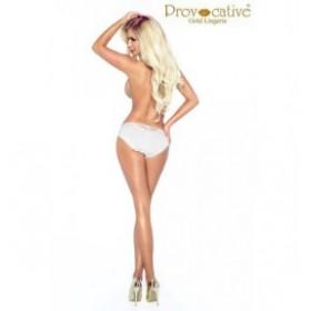 Culotte - provocative - blanche