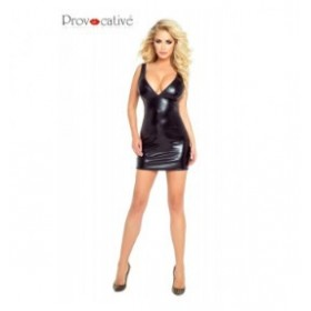 robe - noir -provocative