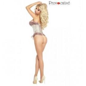corset - provocative - rose poudré