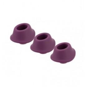 Tête de rechange pour Womanizer classic et premium X 3 - WOMANIZER - taille M - violet