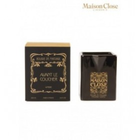 avant le coucher - maison close - bougie