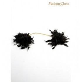 les menottes voluptées - maison close - menottes - noire