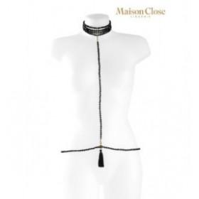 a ton cou - maison close - collier harnais - lingerie