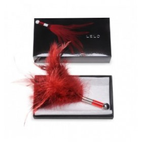tentra plumeau aguicheur rouge