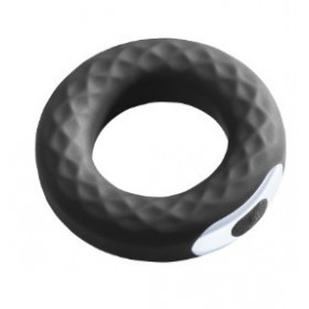 Anneau vibrant - Noir - Vibro Spanning-Ring - MALESATION