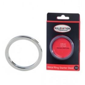 Anneau penien - Metal Ring Starter Steel 45 - MALESATION