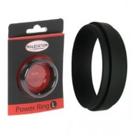 Anneau penien large - noir - Power Ring L - MALESATION