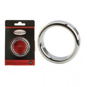 Anneau penien en acier - métal - Metal Ring Professional 38 - MALESATION