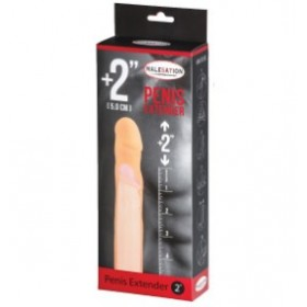gaine à pénis avec extension - chair - Penis Extender 2 - MALESATION