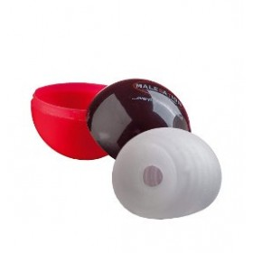 masturbateur elastique - noir - Masturbation Cup Lucky Ball - MALESATION